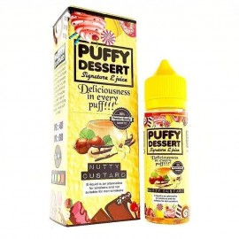 Puffy Dessert - Coffee Custard 50ML Boosté