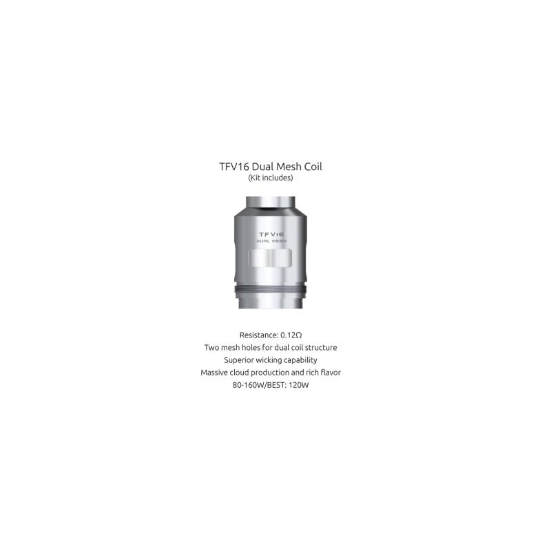 Resistance TFV16 Dual Mesh - Smoktech