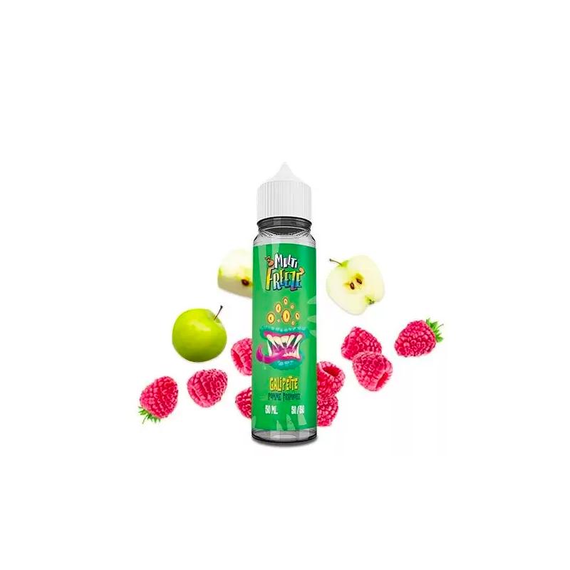 Liquideo - Galipette Pomme Framboise 50ML Boosté