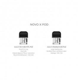 Cartouches Novo X par 3 - Smoktech
