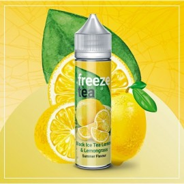 Freeze Tea - Black Ice Tea Lemon 50ML Boosté