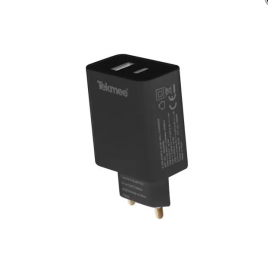 Chargeur Mural Rapide USB 3.0 et Type-C 3A - Tekmee