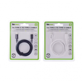 Chargeur 1M TYPE-C /TYPE-C 3A - Tekmee