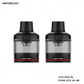 Cartouche GTX Pod 26 5ml - Vaporesso
