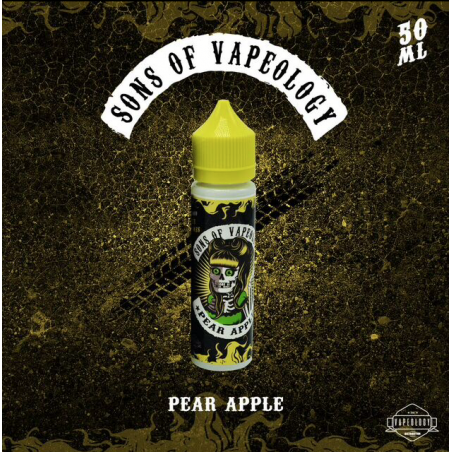 Sons Of Vapeology - Pear Apple 50ML Boosté
