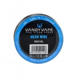 Fil Résistif Mesh SS316 - Vandy Vape