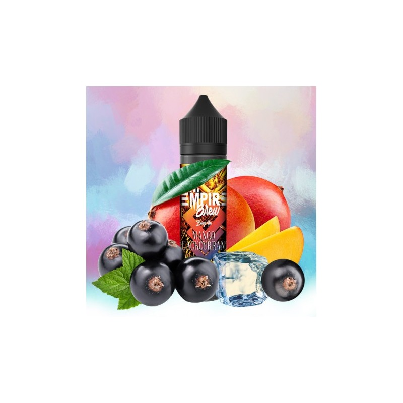 Empire Brew - Mango Blackcurrant 50ML Boosté