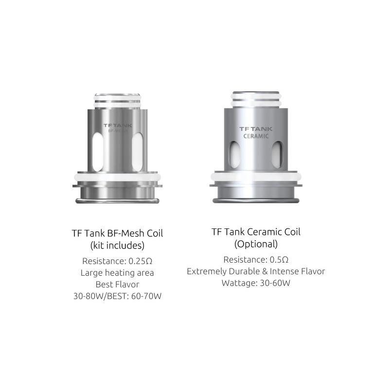 Resistance TF Tank BF Mesh - Smoktech