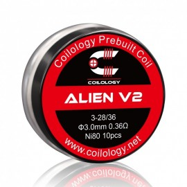 Coils Préfaits Performance Alien V2 Par 10 - Coilology
