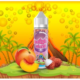 Bubble Island - Peach Lychee 50ML Boosté