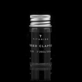 Résistances pré-montées Fused Clapton 3.0mm (0.2) Titanide