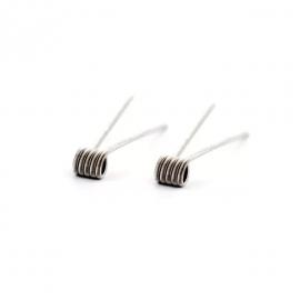 Fused Clapton Large 0.28Ω single/0.14Ω dual - GM Coils