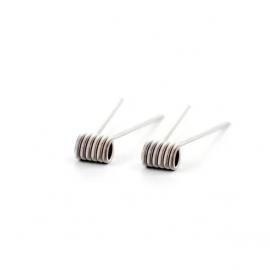 Fused Clapton Medium 0.40Ω single/ 0.20Ω dual - GM Coils